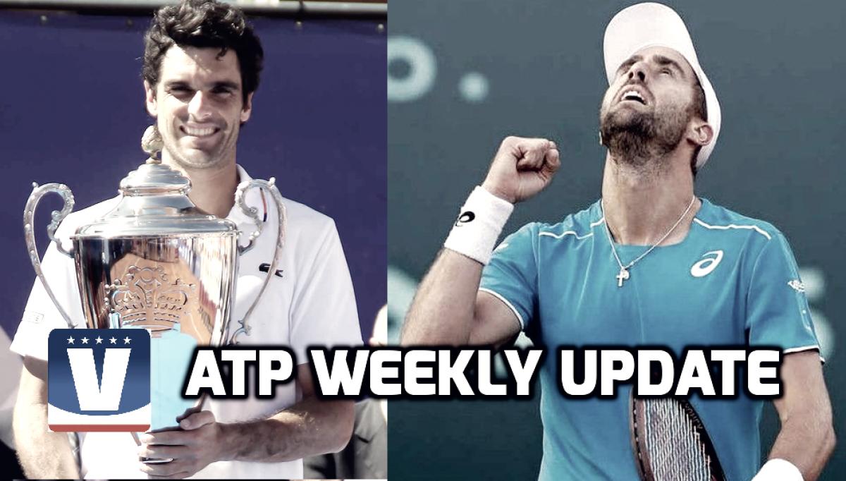 ATP Weekly Update week 15: Clay court swing gets underway