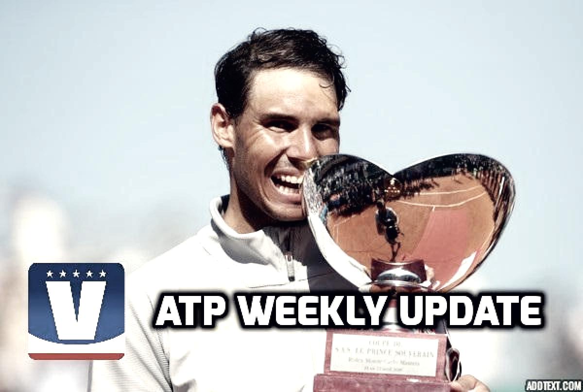 ATP Weekly Update week 16: Rafael Nadal rules again