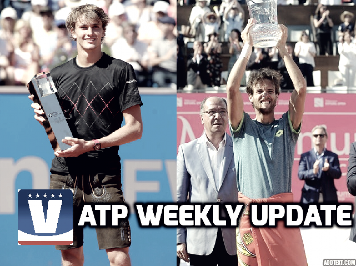 ATP Weekly Update week 18: Home favourites clean up on clay