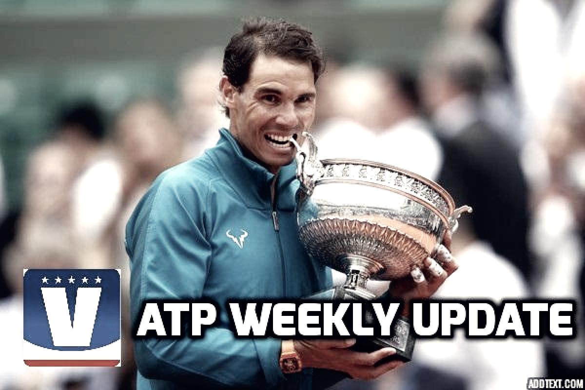 ATP Weekly Update week 23: Rafael Nadal keeps making history