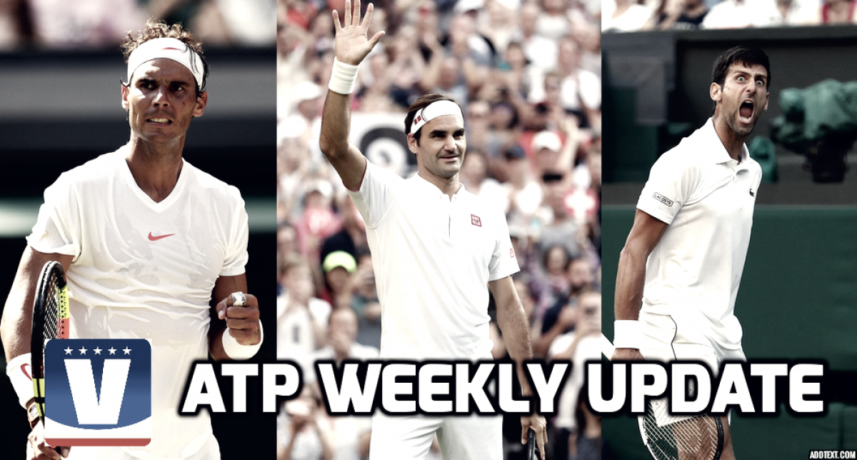 ATP Weekly Update week 27: Big three making it look easy at Wimbledon