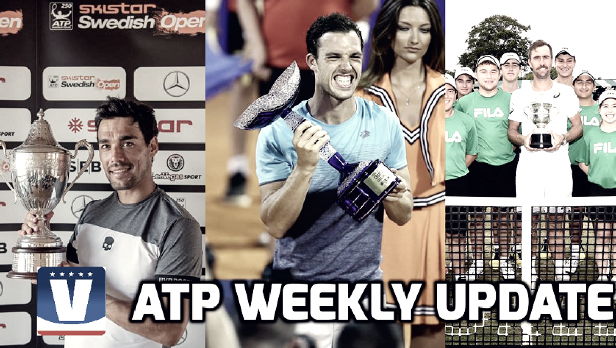ATP Weekly Update week 29: Italians clean up post-Wimbledon