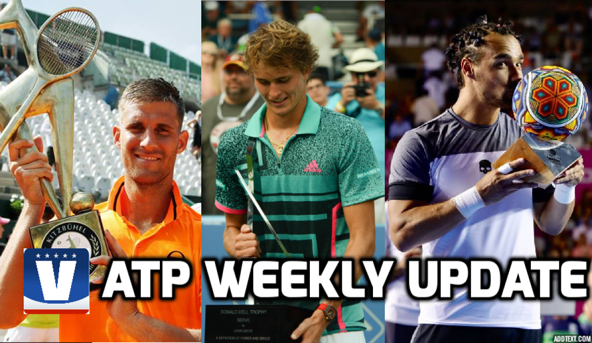 ATP Weekly Update week 31: NextGen shines in Washington while veterans clean up elsewhere