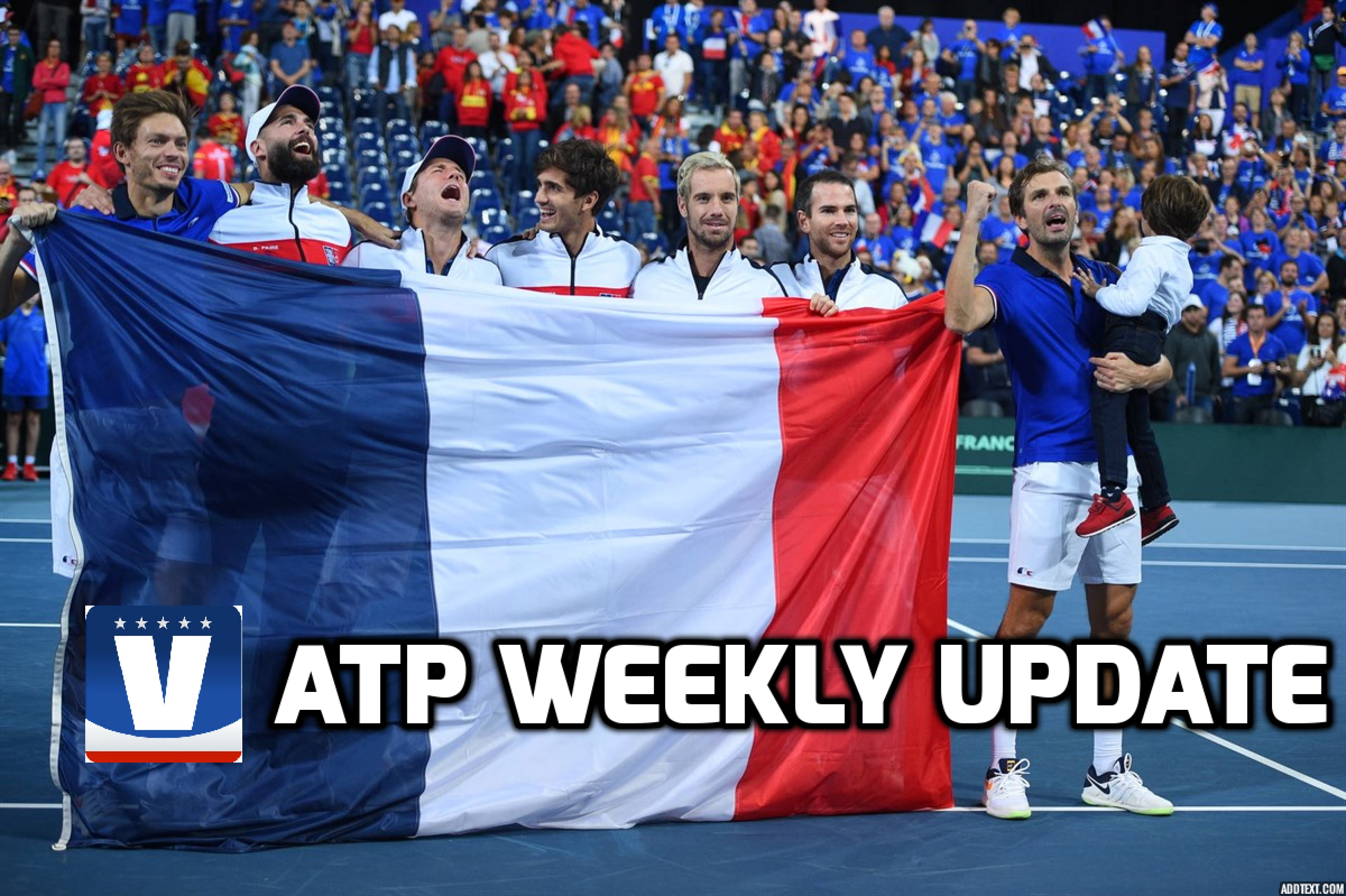 ATP Weekly Update week 37: France to go for back-to-back Davis Cup title against Croatia