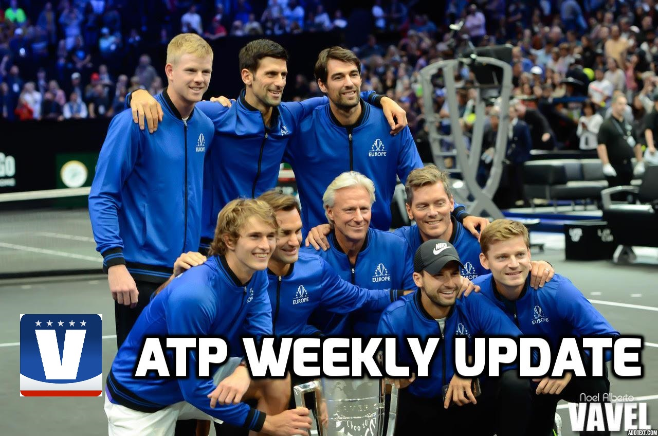 ATP Weekly Update: Big names shine in exhibition and main tour play