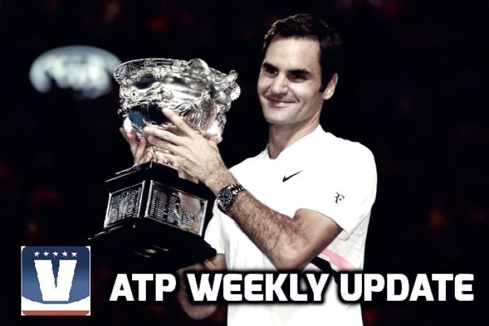 ATP Weekly Update week four: Roger Federer reigns again in Melbourne