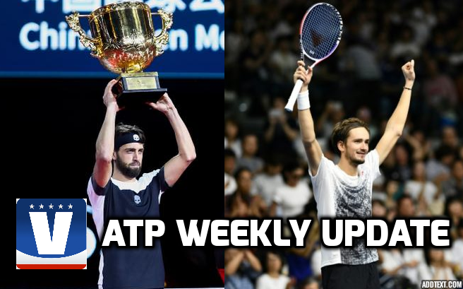 ATP Weekly Update week 40: Favourites stunned as Asian swing heats up