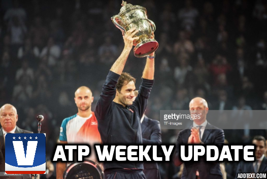 ATP Weekly Update week 43: Roger Federer continues home rule, Final London spots up for grabs in Paris