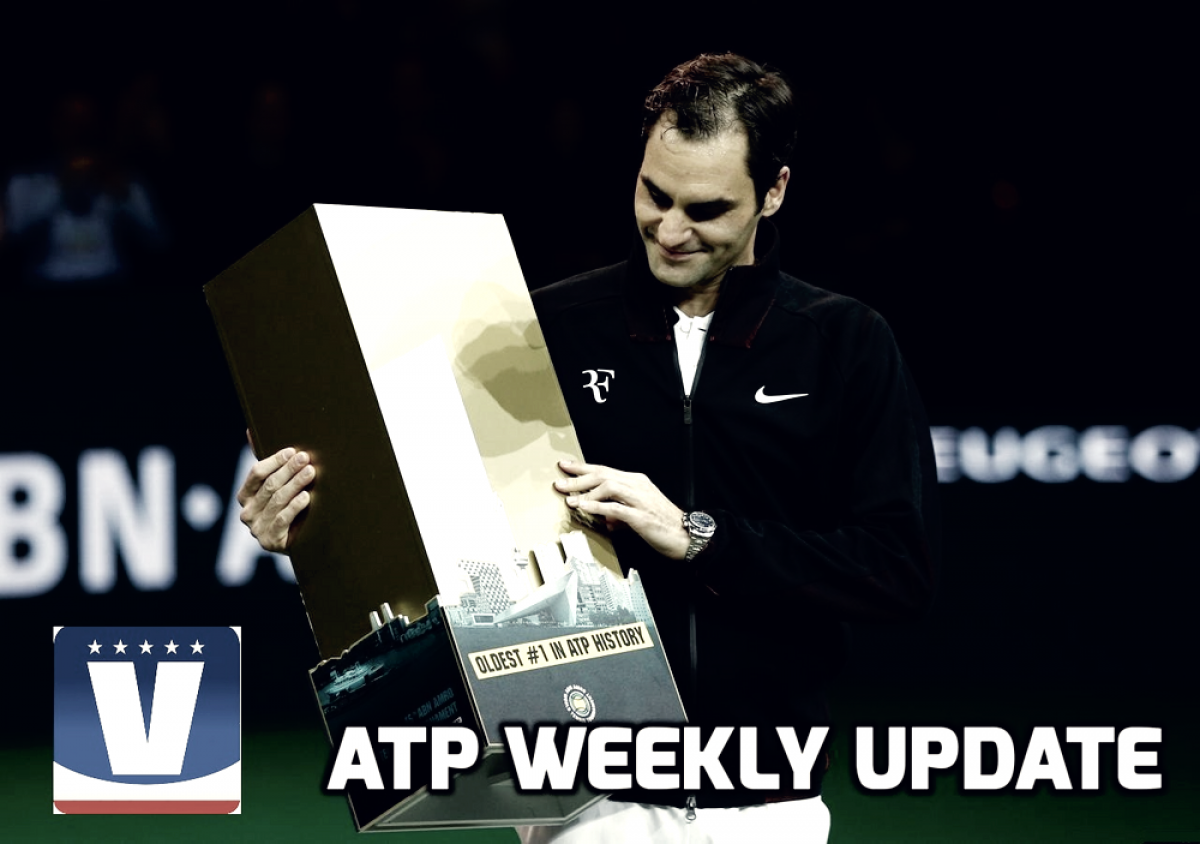 ATP Weekly Update week seven: Roger Federer returns to the top