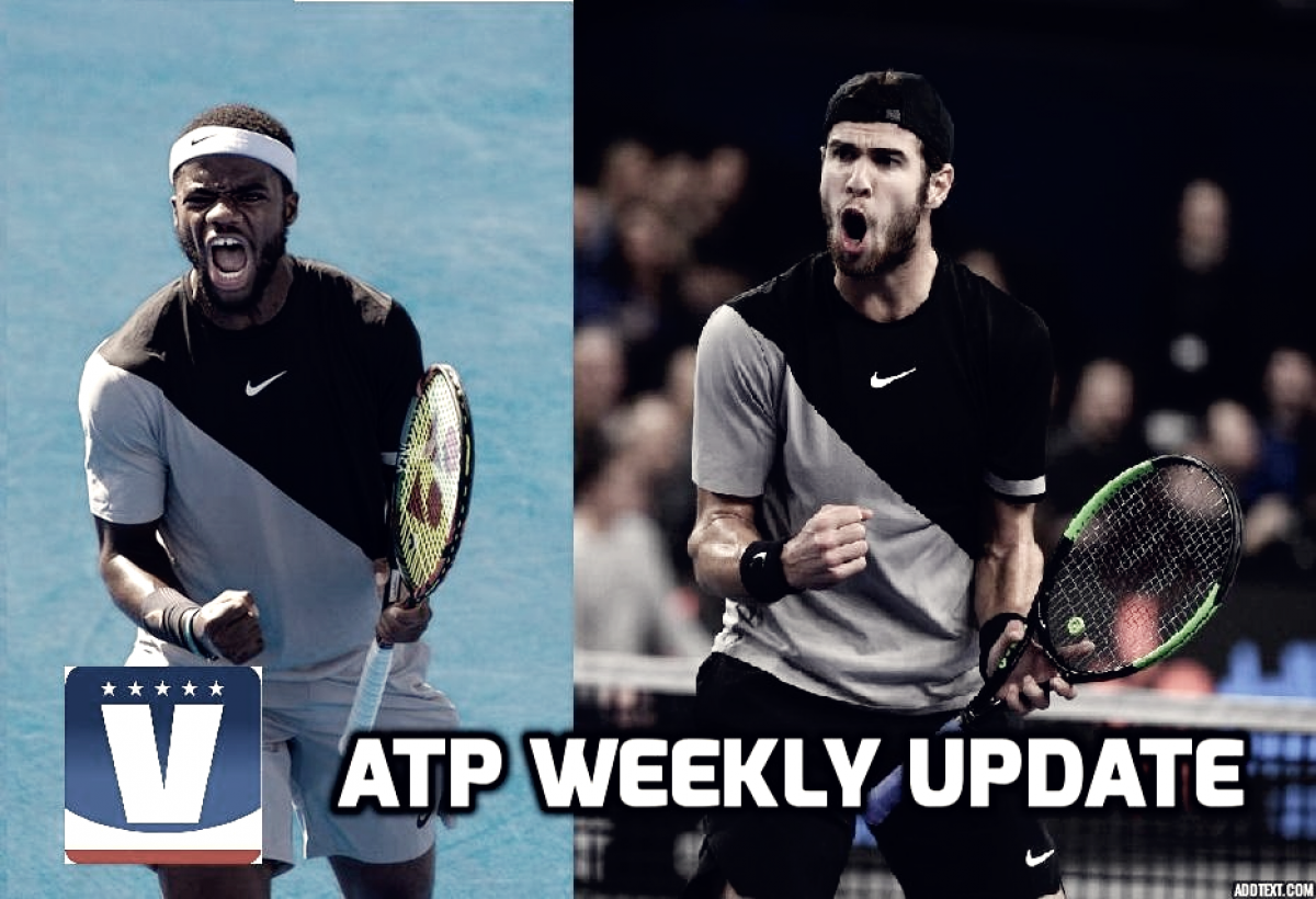 ATP Weekly Update week eight: Young guns snag hardware