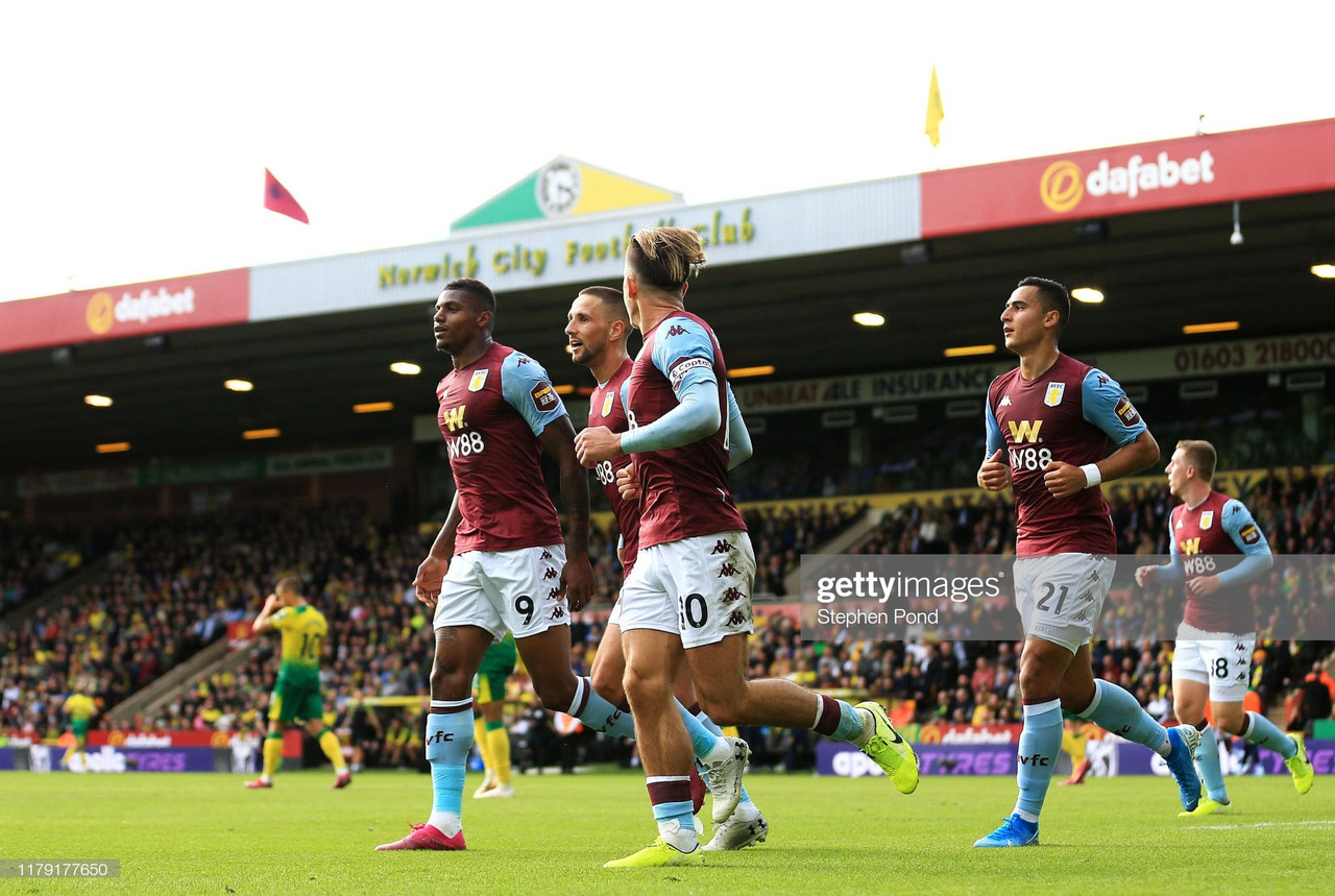 Norwich City 1-5 Aston Villa: Wesley scores two and misses a penalty as Canaries humbled