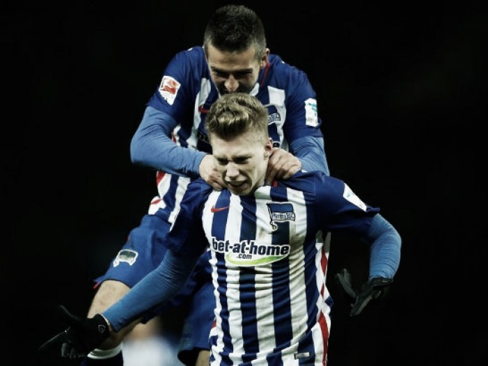 Hertha BSC 2-0 Eintracht Frankfurt: Die Alte Dame continue chase for Champions League