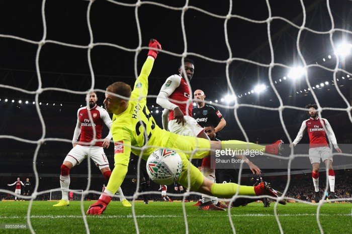 Arsenal 1-0 West Ham United: Welbeck winner decides tame last eight clash