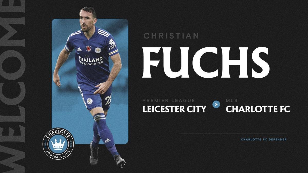 Christian Fuchs firma por Charlotte FC