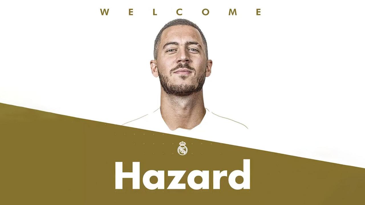 La trayectoria de Hazard hasta llegar al Madrid