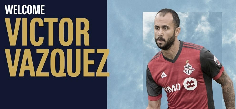 LA Galaxy firma a Víctor Vázquez