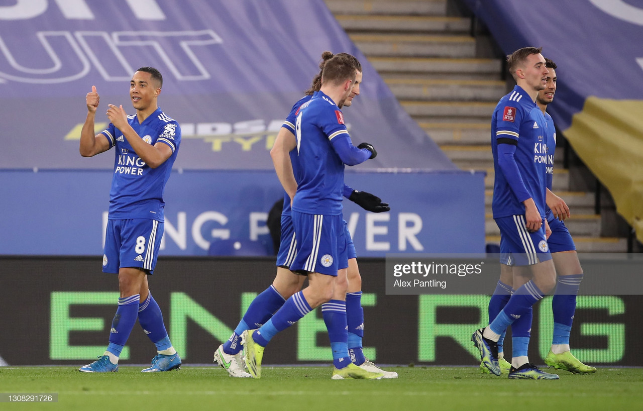 Leicester City 3-1 Manchester United: Foxes reach FA Cup semi-finals for the first time in 39 years