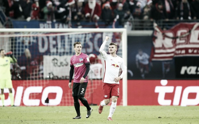 Bundesliga - Il Lipsia riprende a correre: Werner e Orban stendono l'Hertha (2-0)