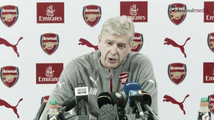 """Wenger: """"No hemos perdido, pero si no creamos, la racha no va a durar mucho"""""""