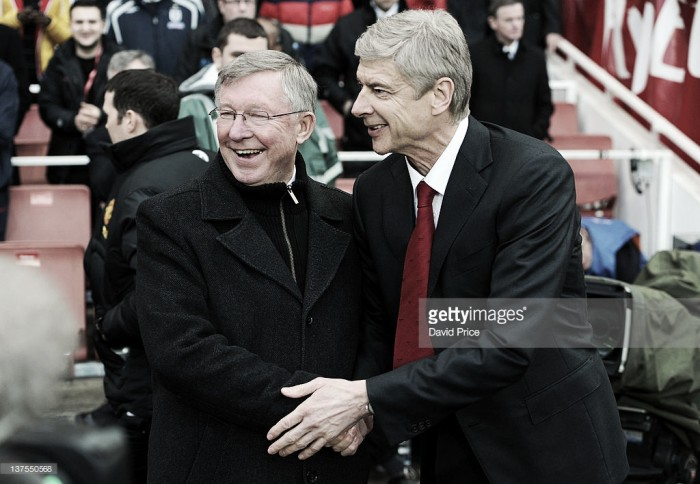 Arsène Wenger still losing to Fergie, even in longevity