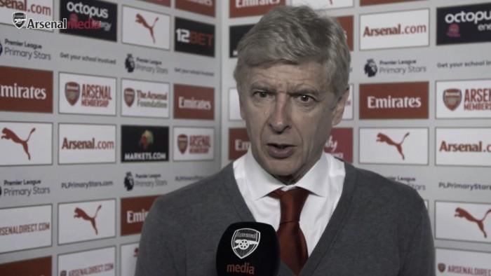 """Wenger: """"Es muy temprano, pues solo se han jugado siete partidos y quedan 31 más"""""""