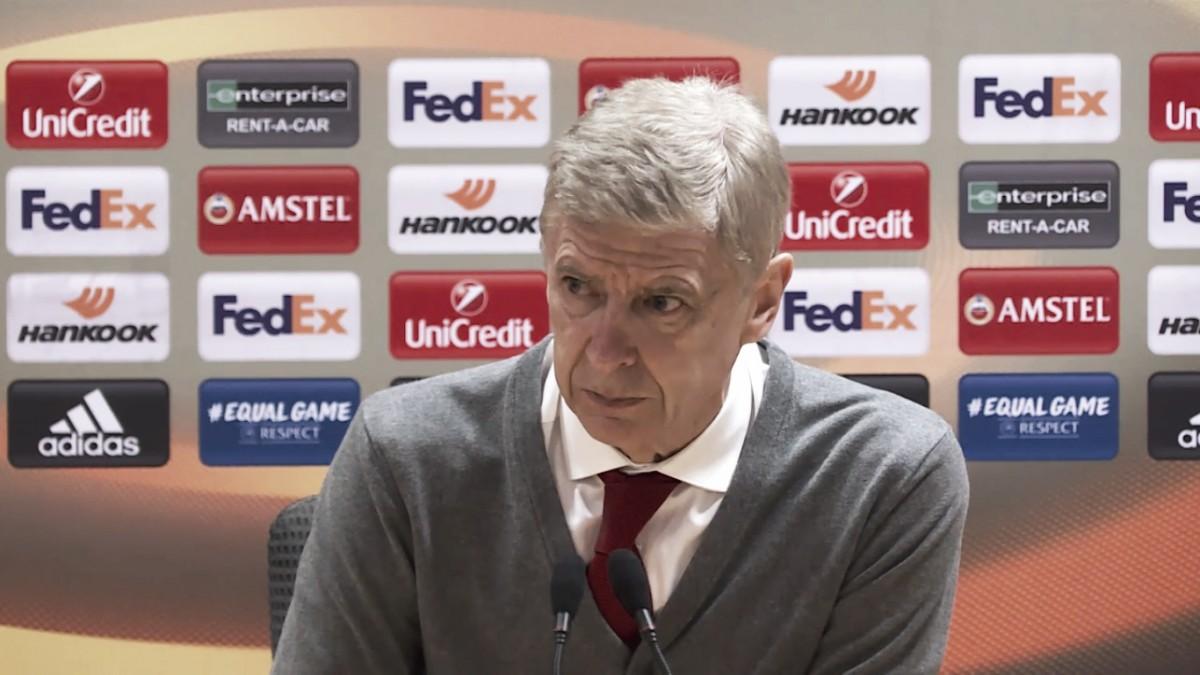 """Wenger: """"Siempre deseaba que marcáramos, pero reconozco que ellos también lo pudieron hacer"""""""