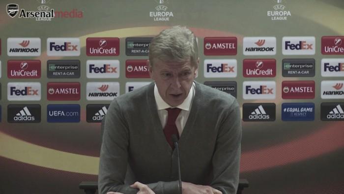 """Wenger: """"Cambié a cuatro en la segunda parte y Kolasinac nos dio mucho delante"""""""