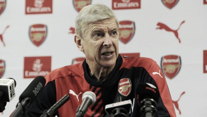 """Wenger: """"Le critiche devono solo motivarci a continuare a lottare per il titolo"""""""