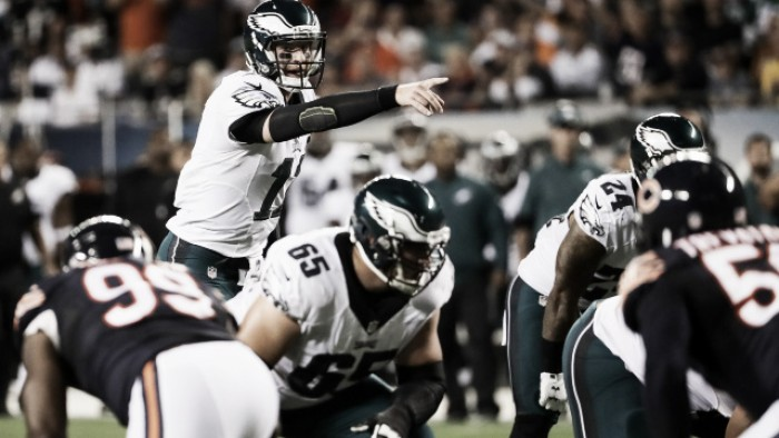 Carson Wentz, Philadelphia Eagles move to 2-0 after claiming solid road victory at Soldier Field