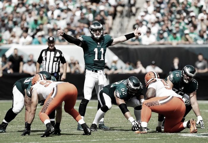 Eagles estreiam com vitória sobre os Browns em casa pela NFL
