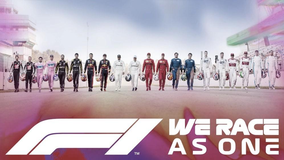 La Fórmula 1 anuncia la iniciativa #WeRaceAsOne