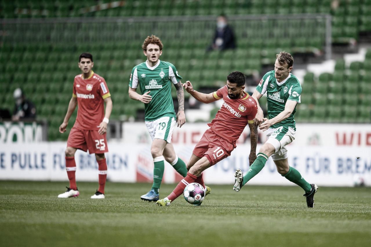 Em jogo de baixo nível técnico, Werder Bremen e Bayer Leverkusen ficam no empate