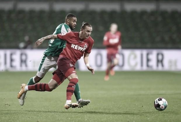 Werder Bremen domina, mas sofre para empatar com Colônia em casa