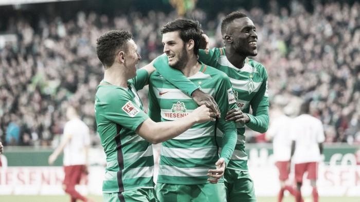 Il sabato di Bundesliga - Il Lipsia si scioglie a Brema, cade anche l'Hertha. Colonia ok con Modeste, avanza l'Hoffenheim