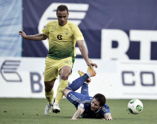 Cedido pelo Anzhi: Ewerton reforça defesa do Sporting