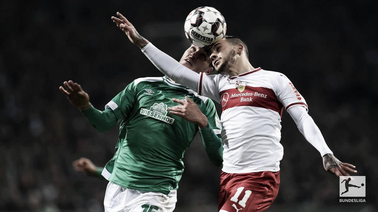 Stuttgart sai na frente, mas Werder Bremen busca empate em casa