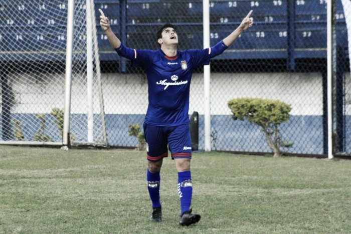 Após marcar 5 vezes em 8 jogos,Daniel Bueno sonha em fazer história no São Caetano