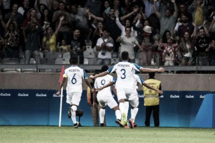 Honduras vence Coréia do Sul e enfrentará Brasil na semifinal