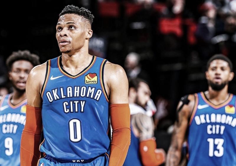 Após saída de Paul George, Westbrook e Oklahoma negociam troca; Miami Heat tem interesse