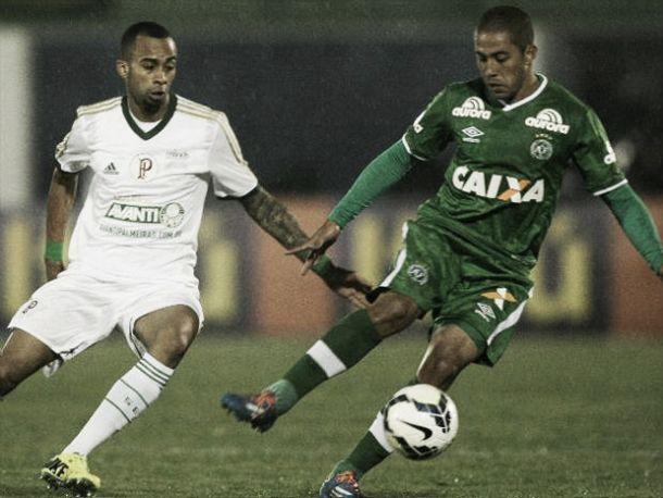 Wesley e Diogo admitem partida ruim do Palmeiras