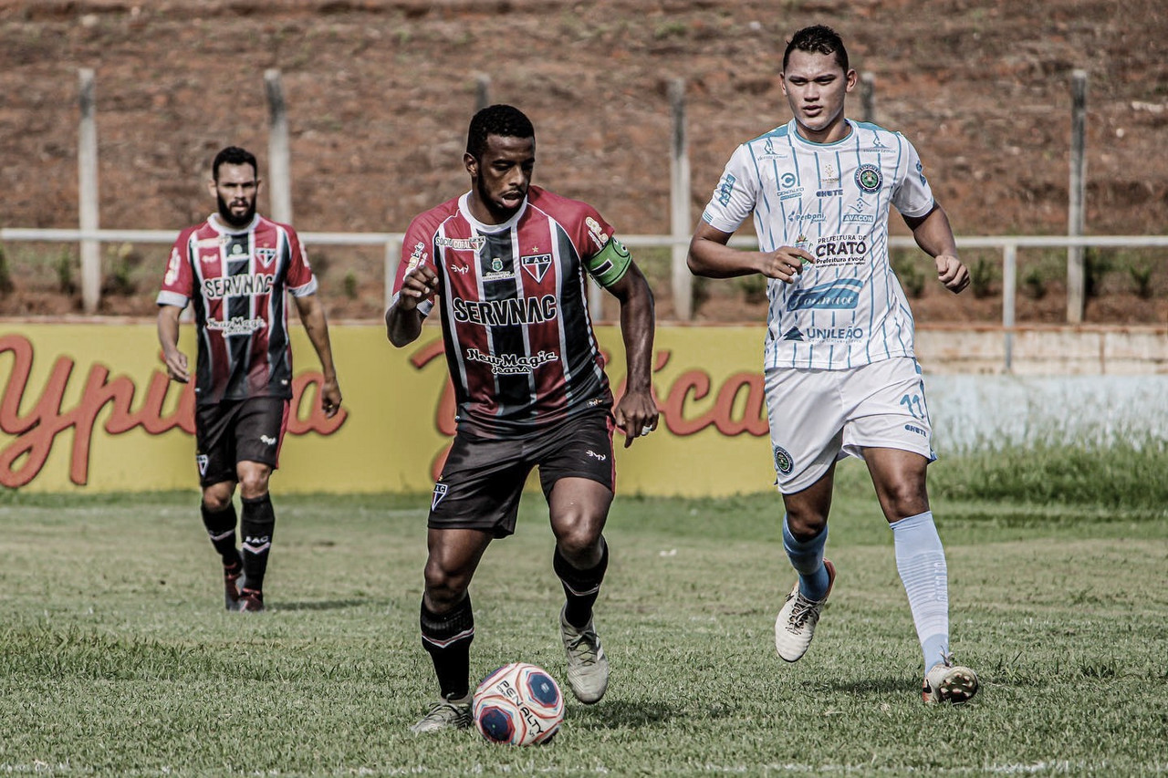 Volante do Ferroviário, Wesley Dias destaca necessidade da equipe voltar a vencer na Série C