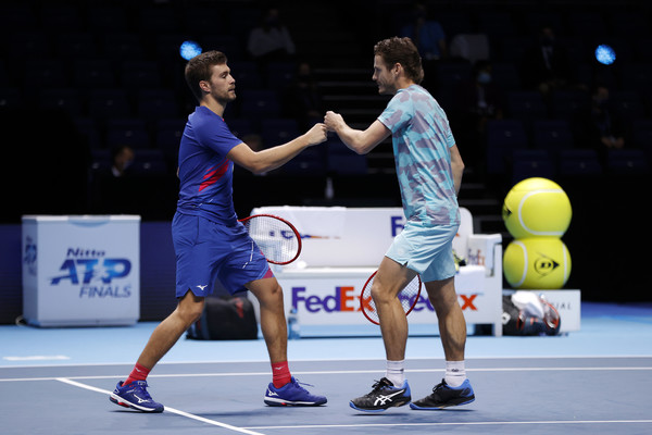 Wesley Koolhof and Nikola Mektic are the Nitto ATP Finals champions!