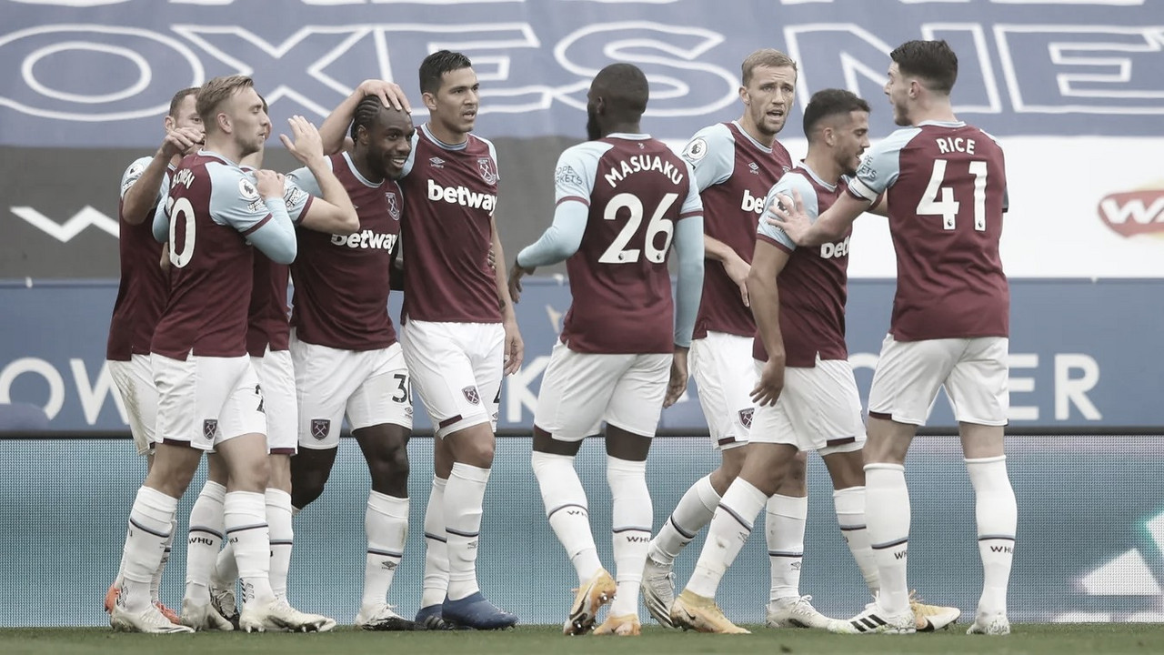 El  gran inicio del West Ham./ Foto: Premier League
