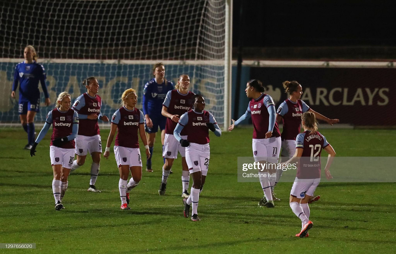 The Warm Down: West Ham cruise past high flying Durham to progress into the Continental Cup semi-finals