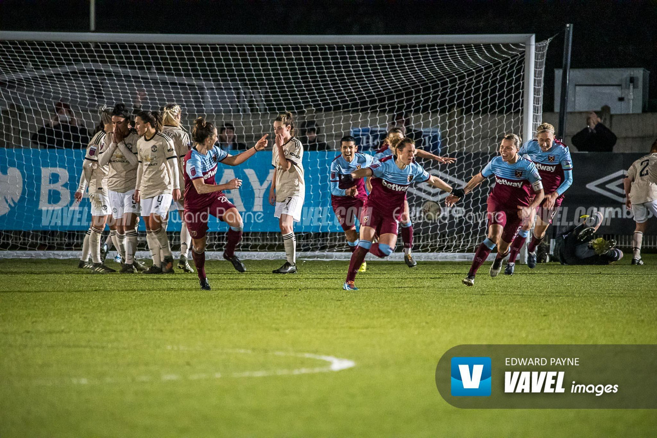West Ham Women vs Manchester United Women | Photo by Edward Payne/VAVEL images