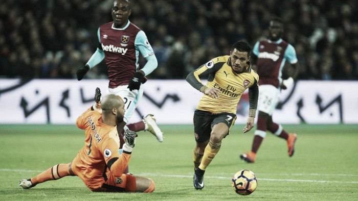Resumen del West Ham 0-0 Arsenal en Premier League 2017