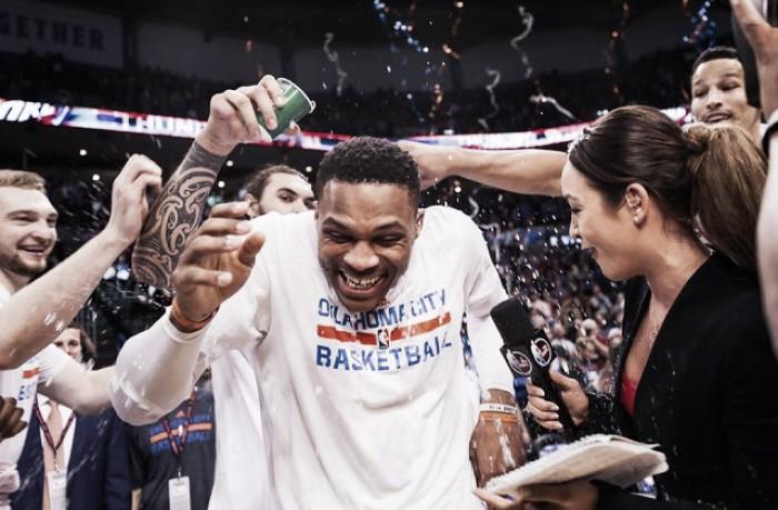 Westbrook pareggia il record Nba di triple doppie in stagione