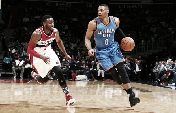 Nba, Thunder in scioltezza a Washington (101-125)