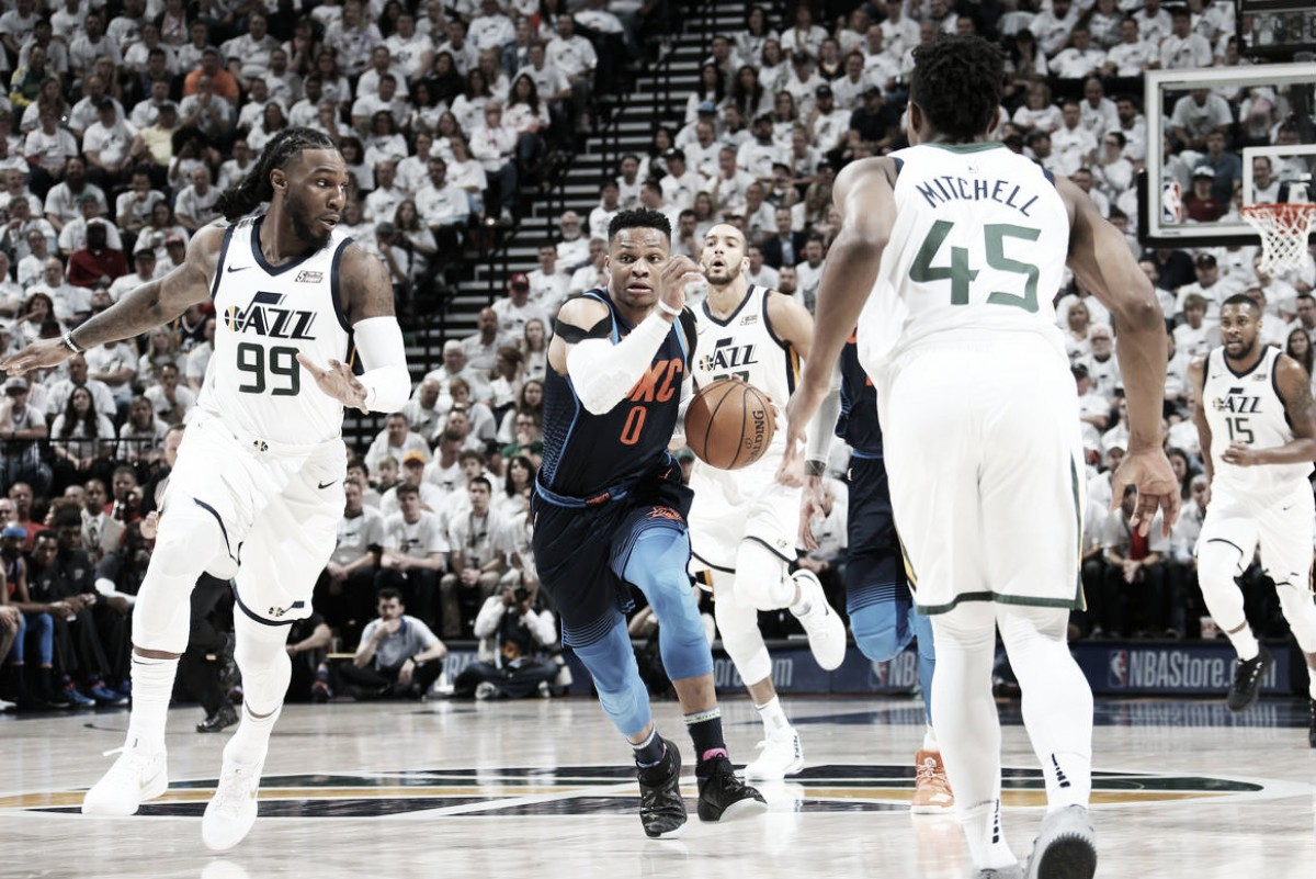 La NBA multa a Russell Westbrook