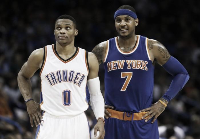 Carmelo Anthony acerta troca bombástica para o Oklahoma City Thunder — NBA